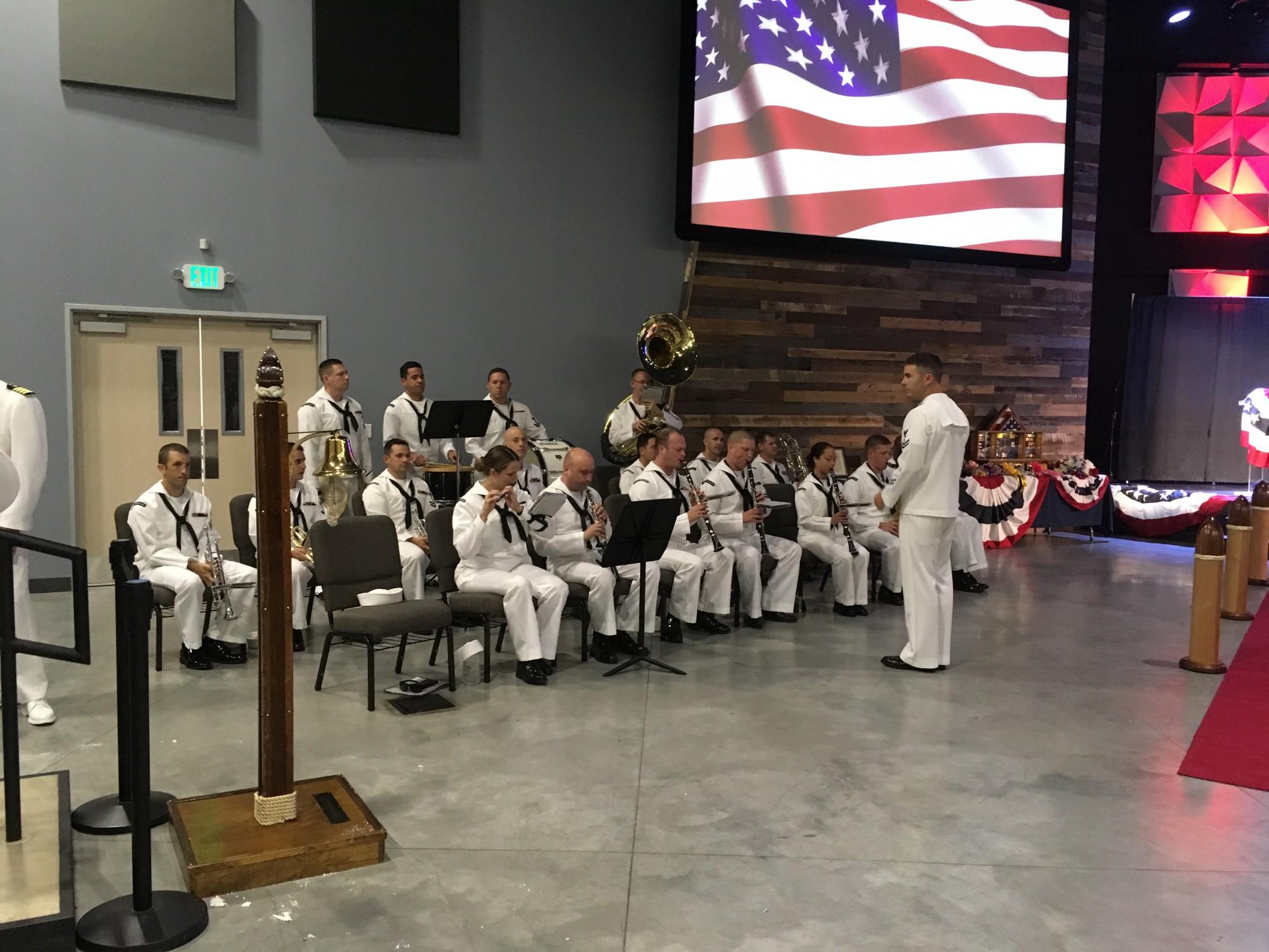 social-military band